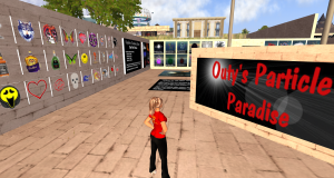 Outy's Particle Paradise in Second Life